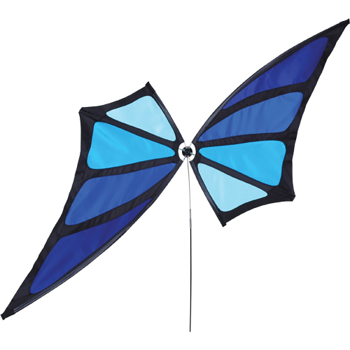 # 22393 : Blue  Butterfly Spinners  upc #  63010422393
