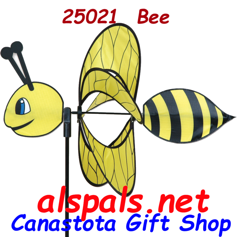 # 25021 : Bee  Petite & Whirly Wing Spinner  upc#  630104250218