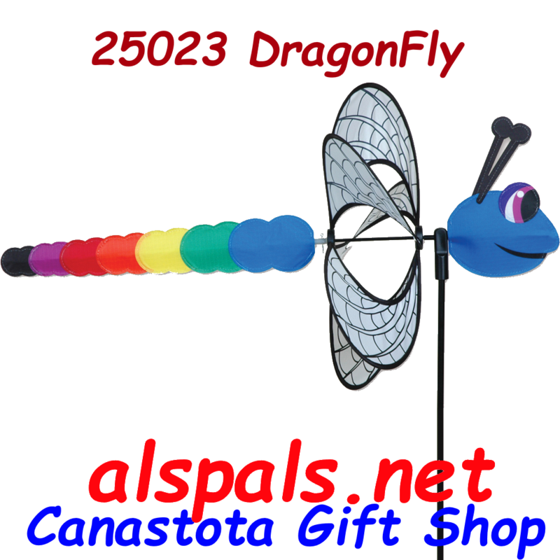 # 25023 : Dragonfly  Petite & Whirly Wing Spinner  upc#  630104250232