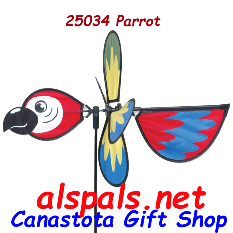 # 25034 : Parrot  Petite & Whirly Wing Spinner  upc#  630104250348