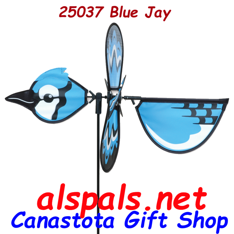 # 25037 : Blue Jay  Petite & Whirly Wing Spinner  upc#  630104250379