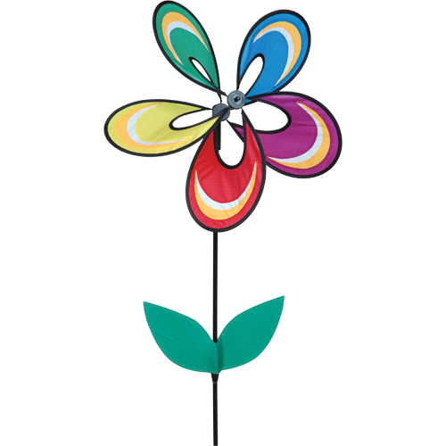 # 25043 : Fantasy Flower  Whirly Wing Flower Spinners  upc#  630104250430