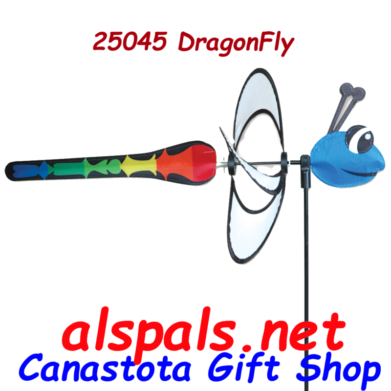 # 25045 : Dragonfly  Petite & Whirly Wing Spinner  upc#  630104250454