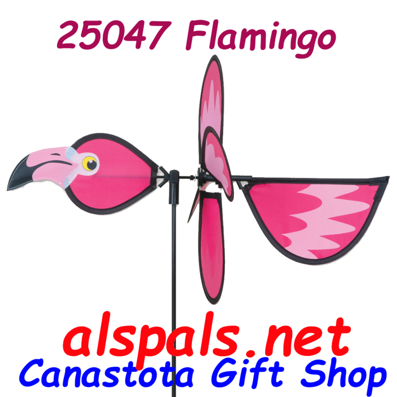 # 25047 : Flamingo  Petite & Whirly Wing Spinner  upc#  630104250478