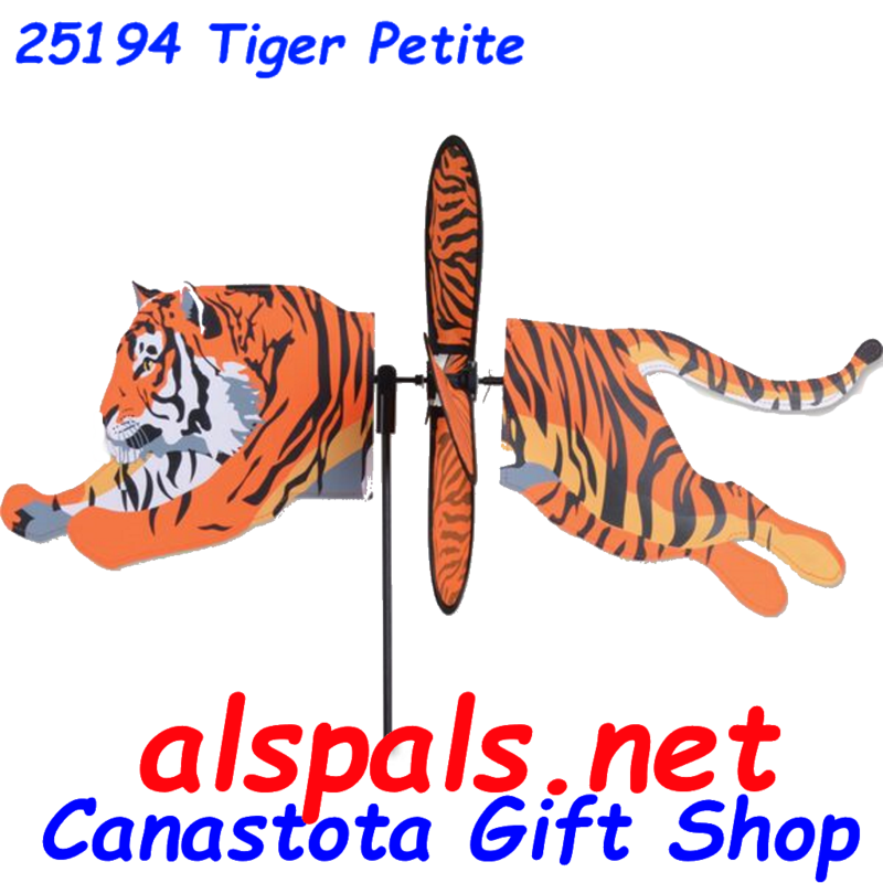 "# 25194   Tiger Petite & Whirly Wing Spinner upc# 630104251949 23"" by 8"" ​ ​"