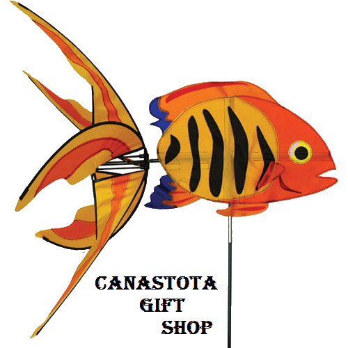 # 25441 : Flame Fish  Aquatic Life Spinners  upc #  630104254414
