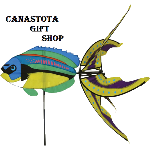 # 25443 : Peacock Wrasse  Aquatic Life Spinners  upc #  630104254438