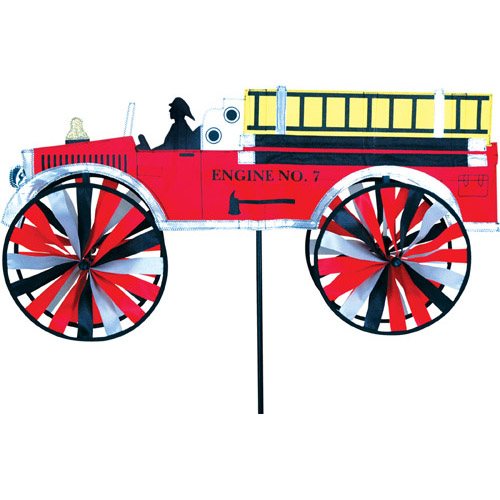 "# 25654 : 32"" Fire Truck   Vehicle Spinners   upc # 63010425654 32"" X 16"""
