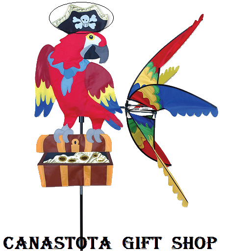 # 25671 : Pirate Parrot  Party Animals  upc#  630104256715