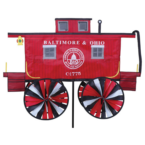 # 25934 : B&O Caboose  Train Spinners  upc #  630104259341