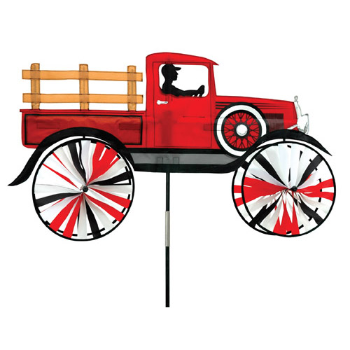 "# 25976 : 38"" Old Time Truck  Vehicle Spinners  upc #  63010425976"