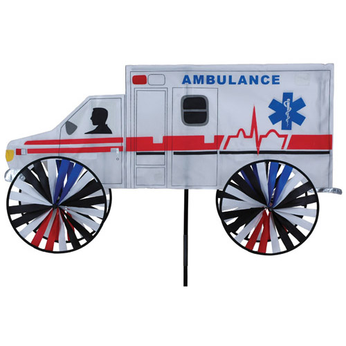 # 25989 : Ambulance  Vehicle Spinners  upc #  63010425989