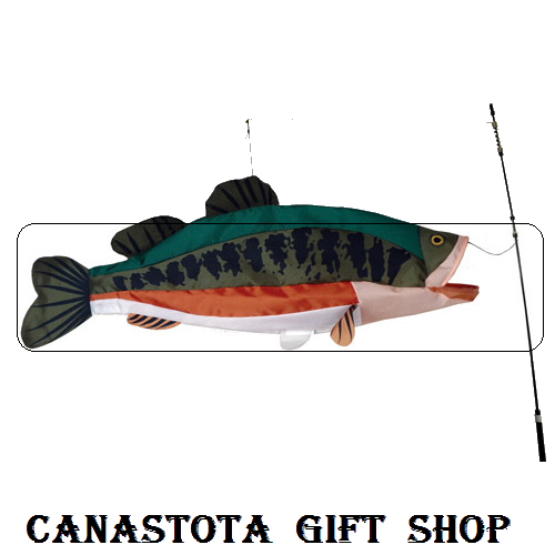 # 26513 : Large Mouth Bass  Swimming Fish  upc #  63010426513