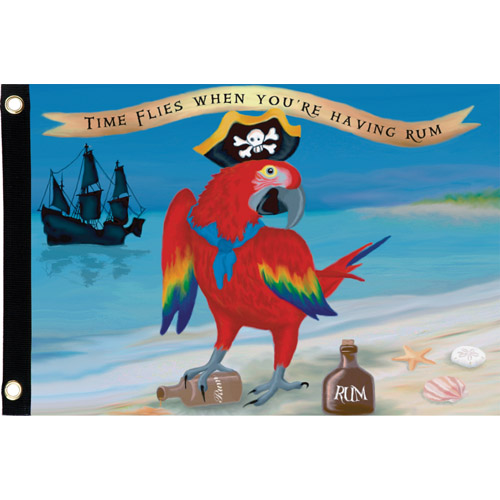 #55108:Parrot the Pirate:Seafarer Flag upc #630104551087