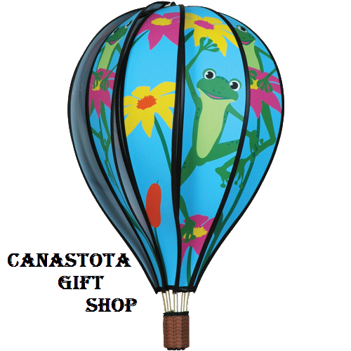 "# 25769 : Frogs  22"" Hot Air Balloons  upc #  63010425769"