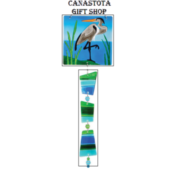 # 81104 : Heron  Glass Sun Catchers  upc #  63010481104
