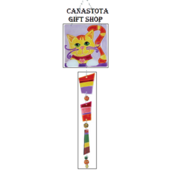 # 81125 : Kitty  Glass Sun Catchers  upc #  63010481125